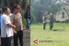 Petugas Jibom ledakkan bom rakitan terduga teroris