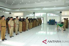 Pejabat Kecamatan dan Kelurahan se-Kabupaten Asahan dimutasi