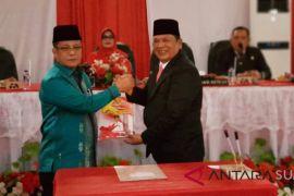Sertijab Walikota dan Wakil Walikota Padangsidimpuan berjalan sukses