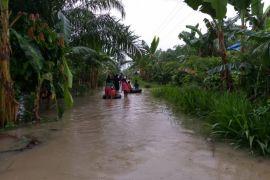 Warga Langkat terdampak banjir  1.453 KK