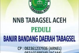 Bencana alam Tabagsel dapat perhatian NNB Tabagsel Aceh
