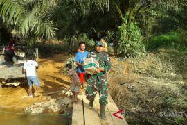 Desa Tagilang Julu kini tersentuh bantuan pasca bencana