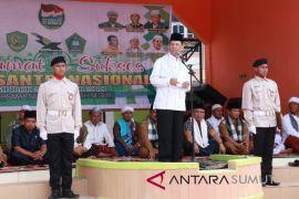 Bupati Tapsel: Terimakasih Presiden RI Jokowi