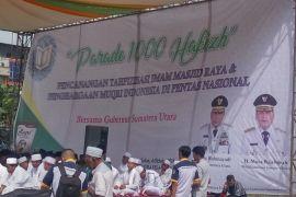 Parade 1000 Hafidz awal pelaskanaan MTQ nasional