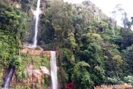 Air Terjun Simatutung menjanjikan sayang minim fasilitas