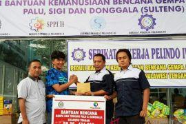 Serikat Pekerja Pelindo I serahkan bantuan korban gempa Palu