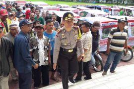 150 pengemudi betor ikrar mendukung Pilpres-Pileg damai