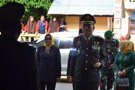 Danyonif 123 irup Hari Pahlawan di Padangsidimpuan