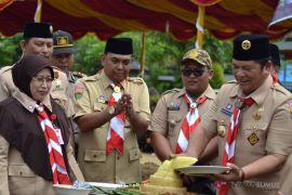 Pemkot Padangsidimpuan peringati Hari Pramuka ke 57