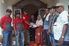 PMI salurkan bantuan ke Desa Muara Batang Angkola