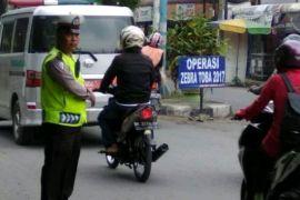 Polrestabes Medan tilang 5.887 pengendara bermotor