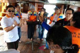 Penutupan UKW PWI - JAPFA di kapal wisata