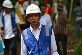 Pasca banjir dan longsor UP3 Padangsidimpuan kerahkan petugas