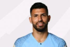 Aguero top skor sementara liga inggris
