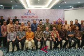 PT.Inalum terus berupaya meningkatkan mutu produksi