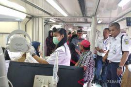 Railclinic  layani kesehatan ribuan warga