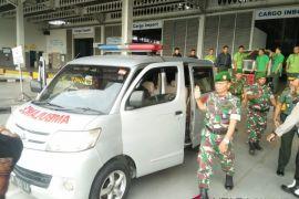 Jenazah korban KKB Papua tiba di Bandara Kualanamu