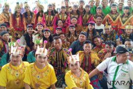 Kapolres Asahan buka festival Kuda Kepang Pujakesuma