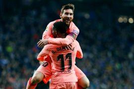 Dua gol Messi antarkan kemenangan Barca dalam Derby Catalan
