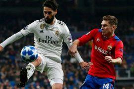 CSKA taklukkan juara bertahan Madrid di kandangnya