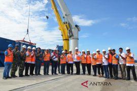 Pelindo I operasikan crane dermaga di Pelabuhan Sibolga