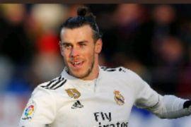 Tendangan voli Bale bawa Madrid kalahkan Huesca
