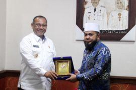 Akhyar terima kunjungan Wali Kota Bengkulu