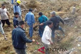 Tiga rumah di Tobasa dilaporkan tertimbun longsor