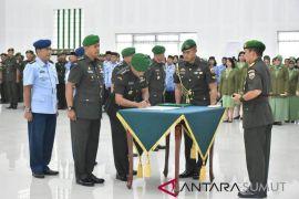 Pangdam I/BB pimpin sertijab Kabekangdam