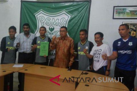20 pemain PSMS tandatangani kontrak