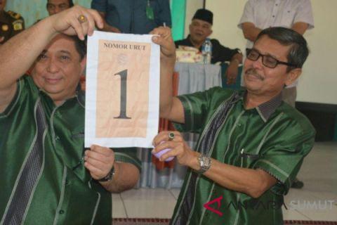 Isnandar-Ali Pada nomor urut 1