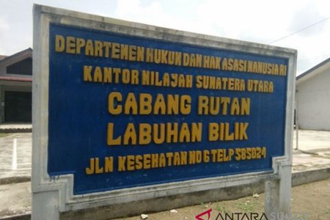 16 tahanan titipan Polres Labuhanbatu melarikan diri