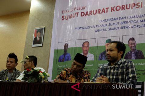 Diskusi Publik Sumut Darurat Korupsi
