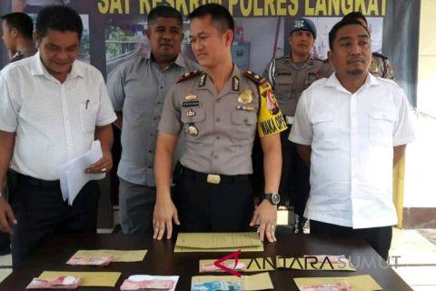 Polisi Langkat masih terus memeriksa tersangka OTT