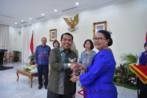 Pemkab Deliserdang kembali terima penghargaan Anugerah Prahita Ekapraya
