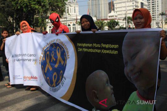 Aksi Hari Kanker Anak Internasional