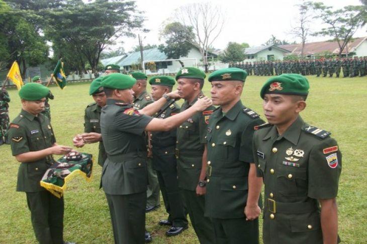 Danyonif 123/Rajawali Pimpin Sertijab  Danki