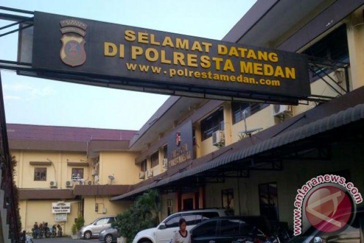 Polrestabes Medan musnahkan narkoba