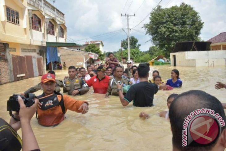 Tebing Tinggi Banjir, 18 ribu Jiwa Mengungsi