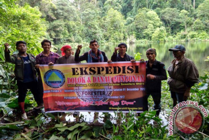 Expedisi Forester Tabagsel Temukan Danau Gon-gonan