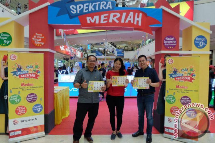 SPEKTRA Targetkan Pembiayaan Rp5 Miliar di Medan