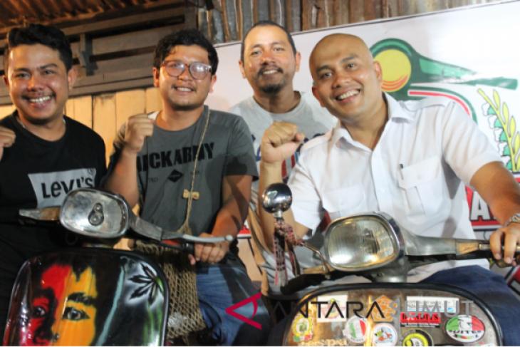 Komunitas vespa scooter salumpat saindege padangsidimpuan