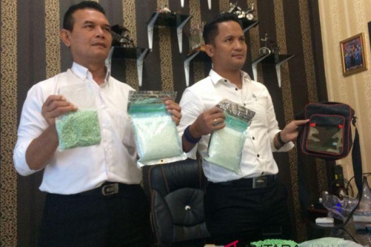 Polisi selidiki kepemilikan narkoba Rp1,5 milyar di Sungai Barumun
