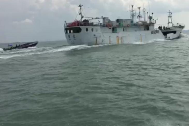 Polri kembali amankan kapal diduga bawa sabu-sabu