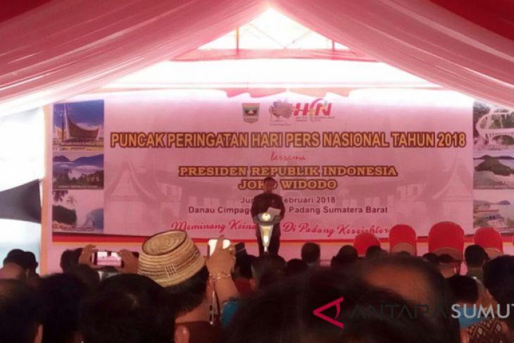 Ribuan peserta hadiri puncak HPN di Padang