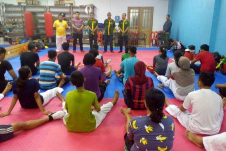 Medan berharap pada taekwondo