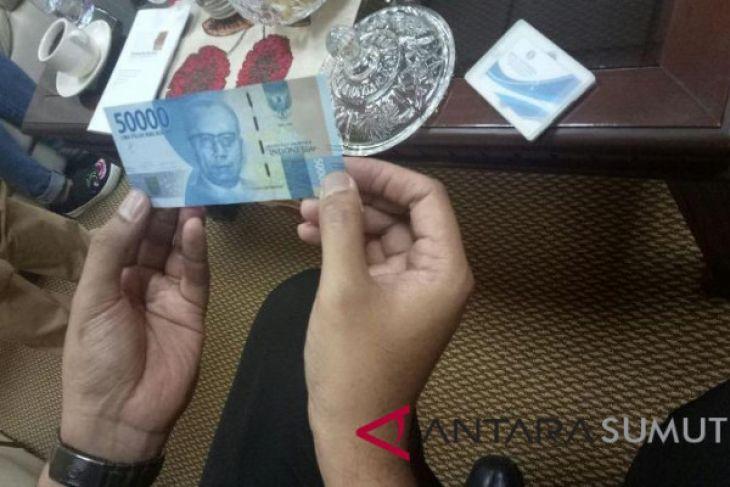866 lembar uang palsu beredar di Sumut