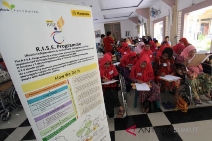 Program Rise Maybank Penyandang Disabilitas