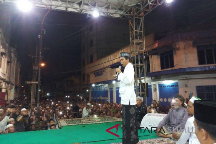 Empat pesan Ustadz Somad untuk warga Tanjungbalai