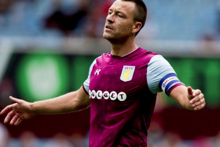 Jhon Terry tinggalkan Aston Villa